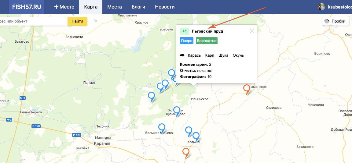льговский пруд хотынецкий район
